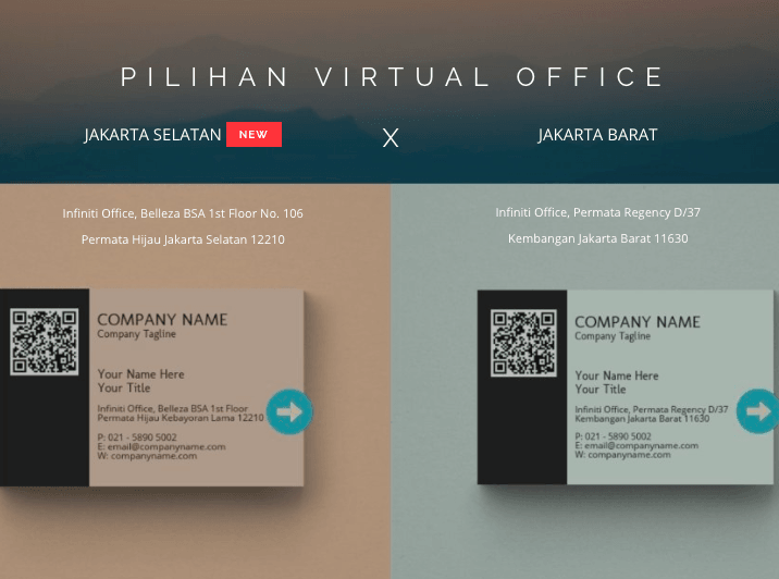 pilihan virtual office